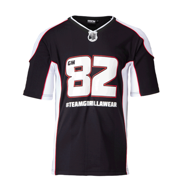 Athlete T-shirt 2.0 Gorilla Wear - Black/White